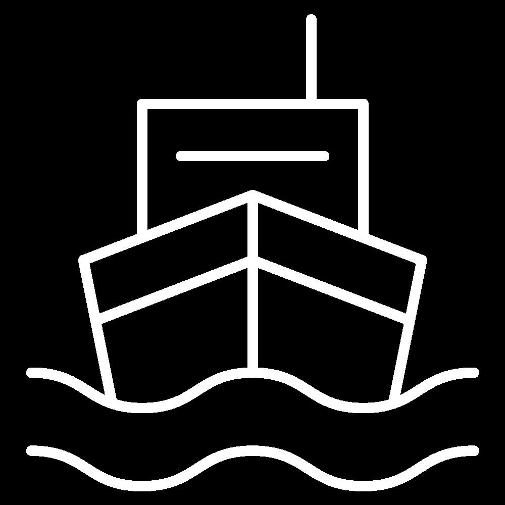 A boat icon
