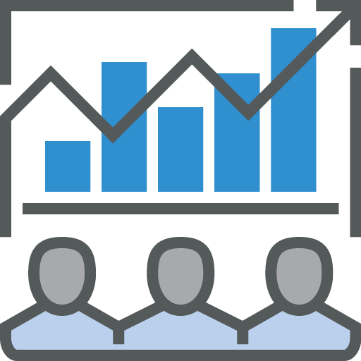 Employee Workforce Analytics Software Icon