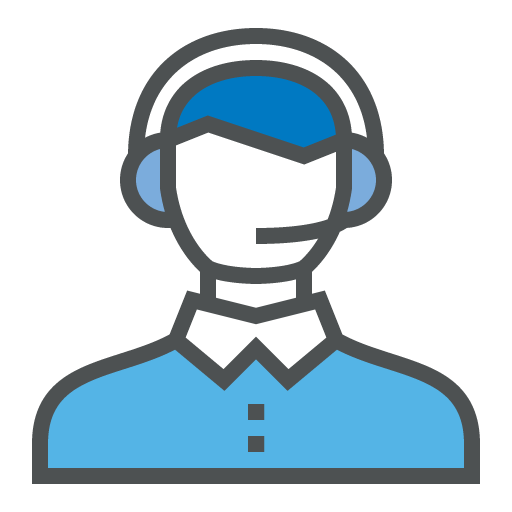 Email & Helpdesk Support Icon