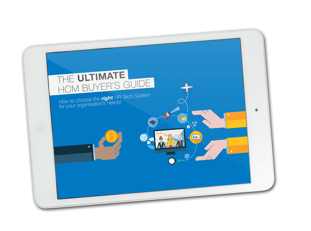 HR Buyer's Guide eBook on an iPad