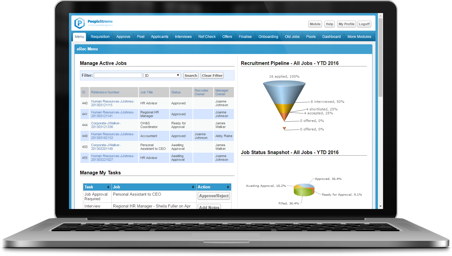 Online eRecruitment Software
