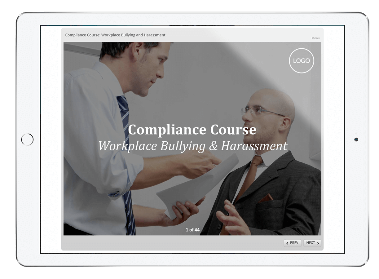 Mitigate your legal, financial and reputational risk with our eLearning compliance suite