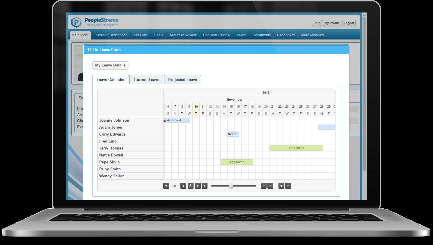 Employee Self Service software (ESS)