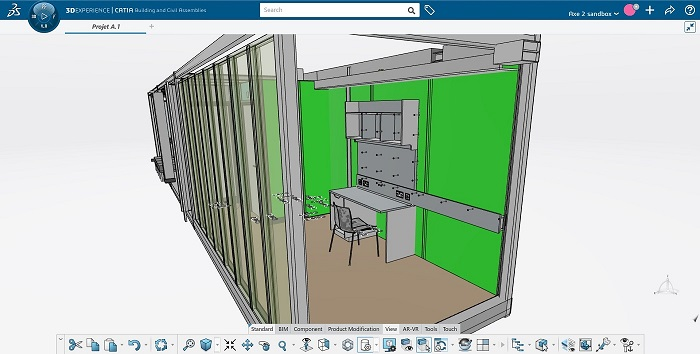 דאסו סיסטמס ו-Bouygues Construction מחויבים להמציא מחדש את ענף הבנייה