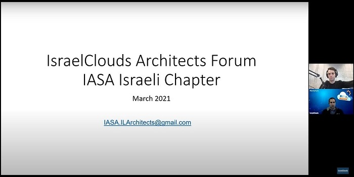 """IsraelClouds Architects Forum: The 3 """"S"""" of Kafka streams architecture for large scale streaming (1M EPS)"""