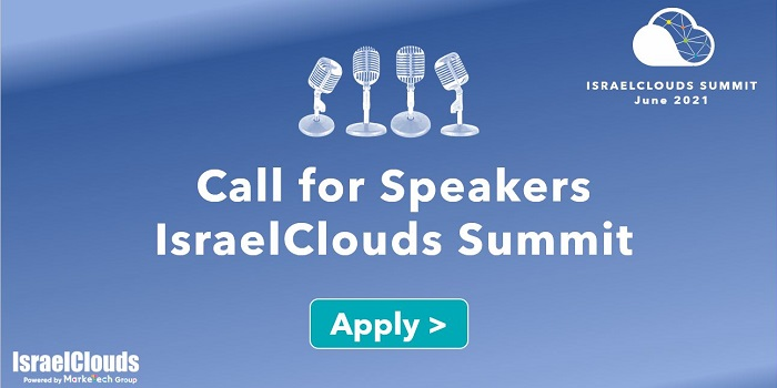 Call for Speakers - IsraelClouds Summit