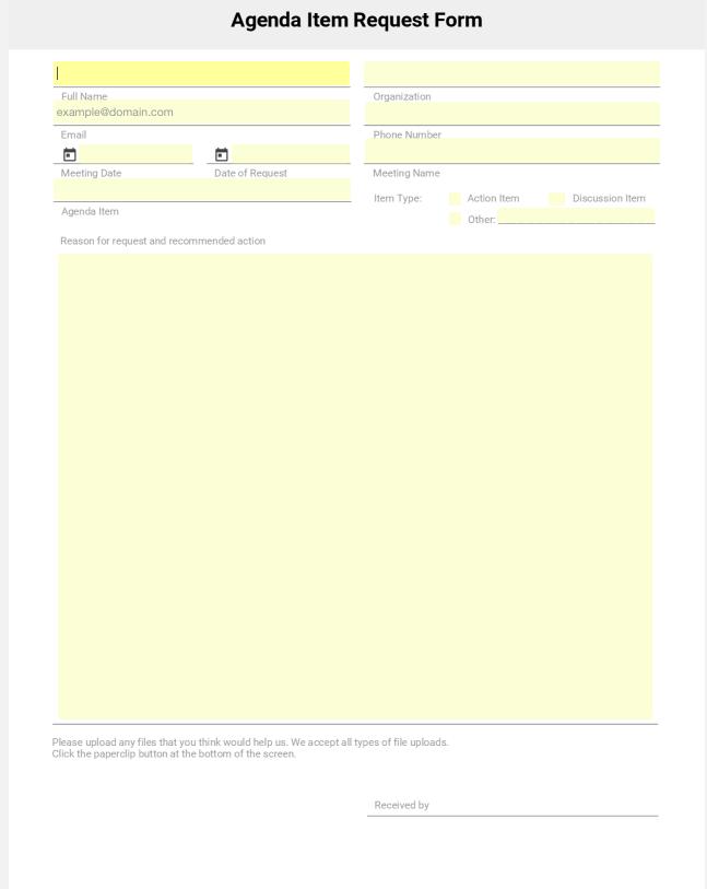 Download Form Templates | SeamlessGov Blog