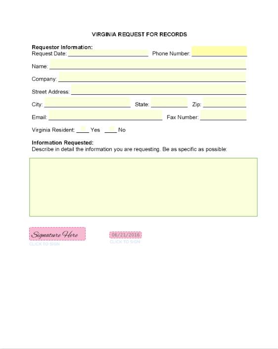 Form examples seamlessgov blog virginia freedom of information act form thecheapjerseys Choice Image