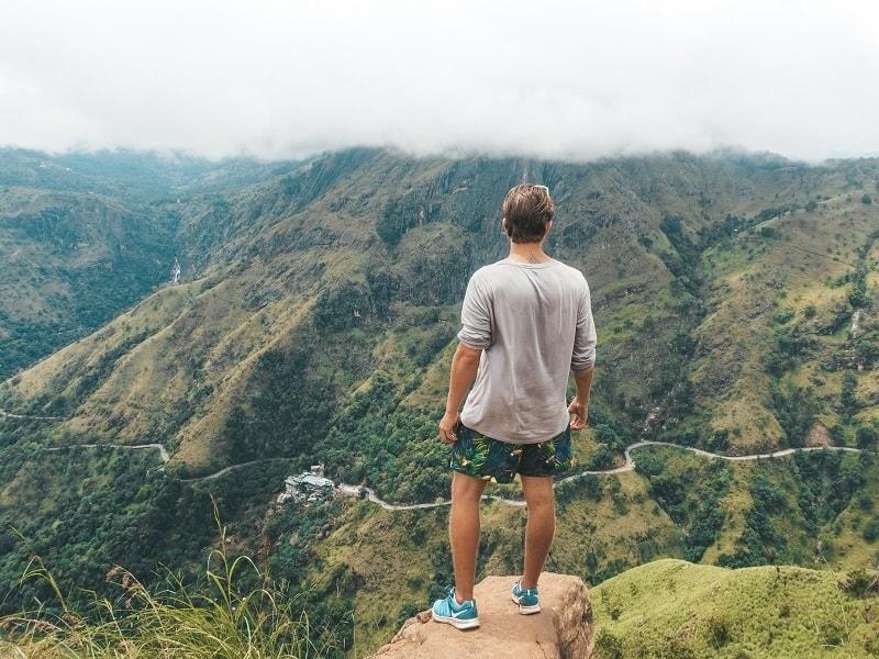 hiking in Sri Lanka - little Adams Peak