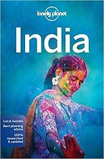 lonely planet India guide book