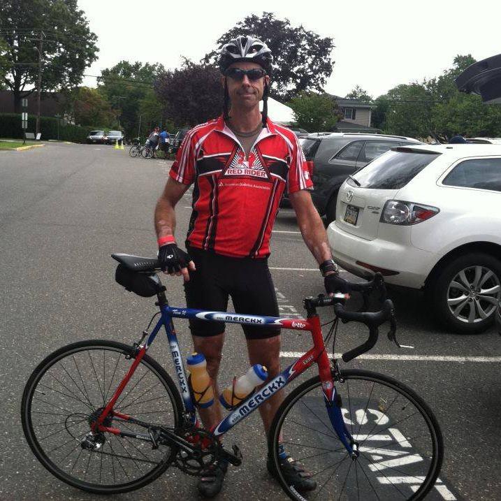 David Endy, cycling type 1 diabetic