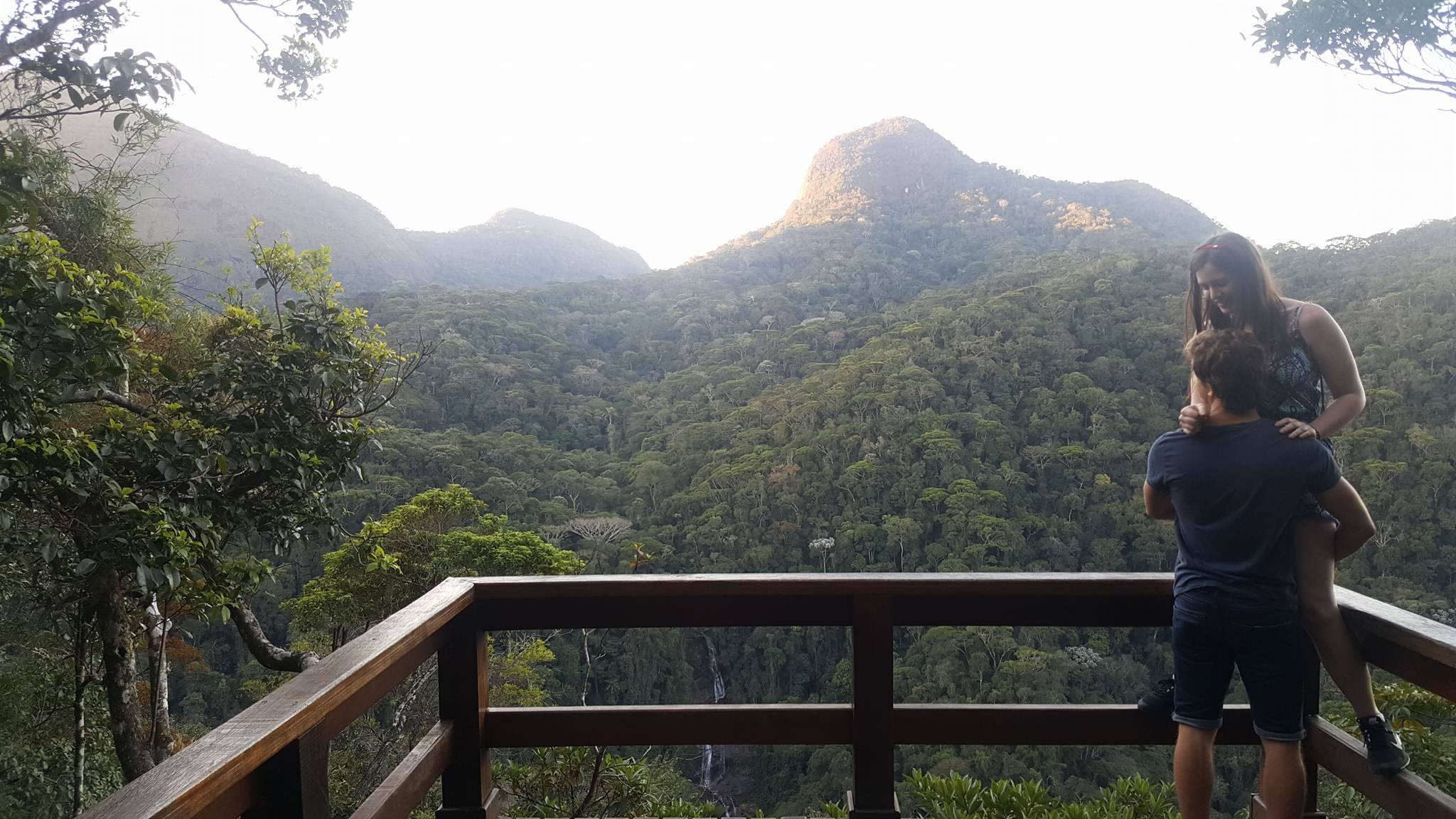 view from Tijuca National Park