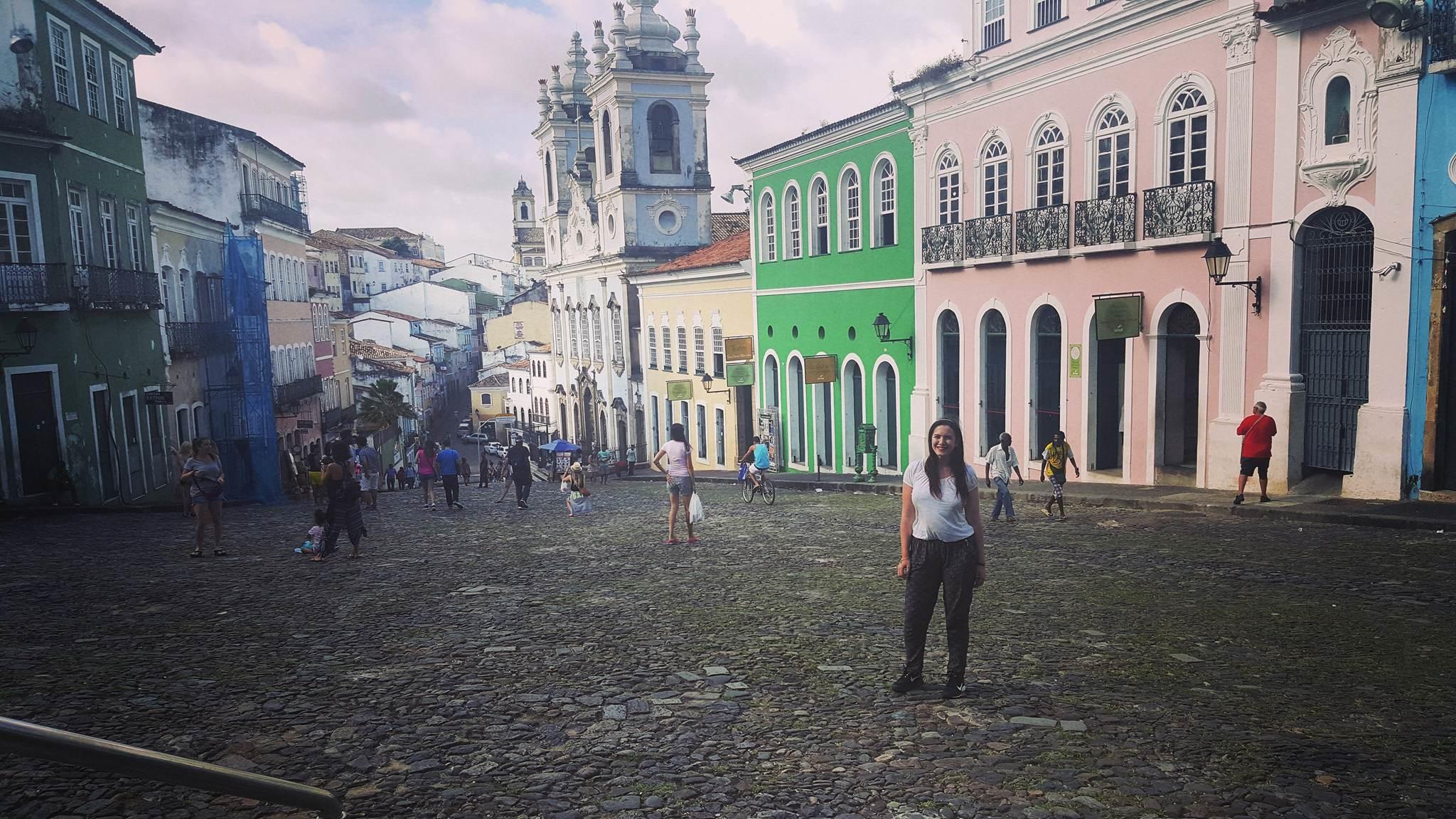Salvador historic centre