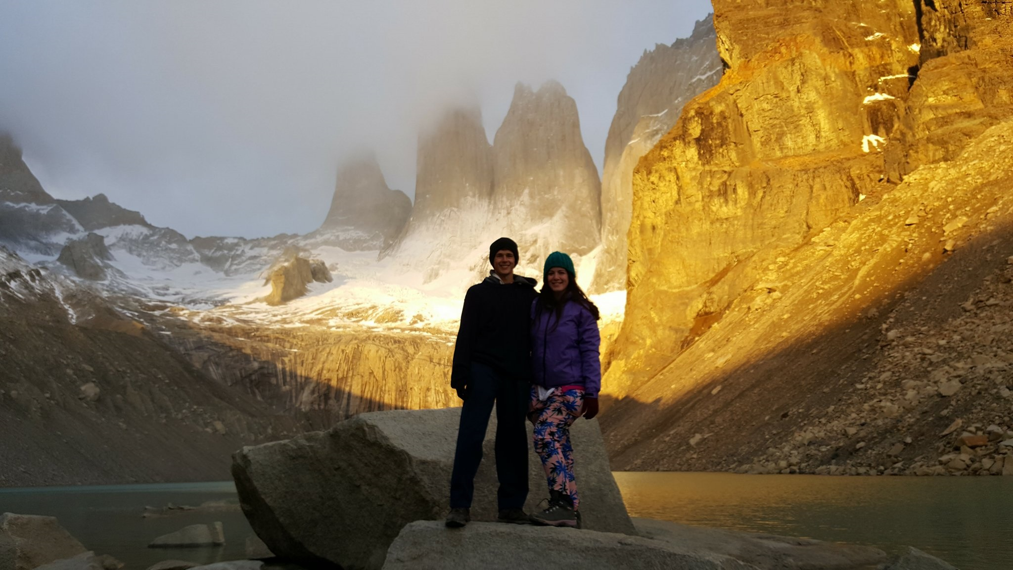 Hiking Torres del Paine