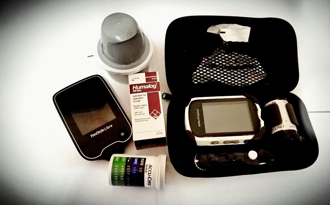 Diabetes supplies for a type 1 diabetic child