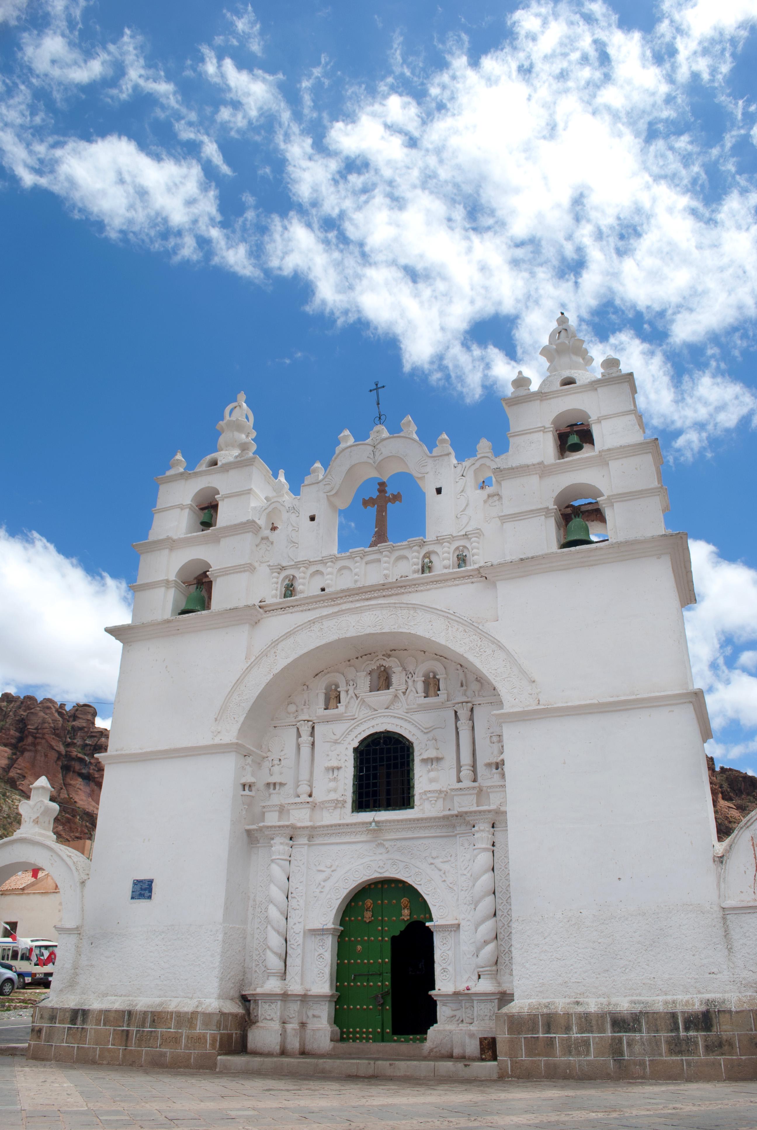 church in Potosi