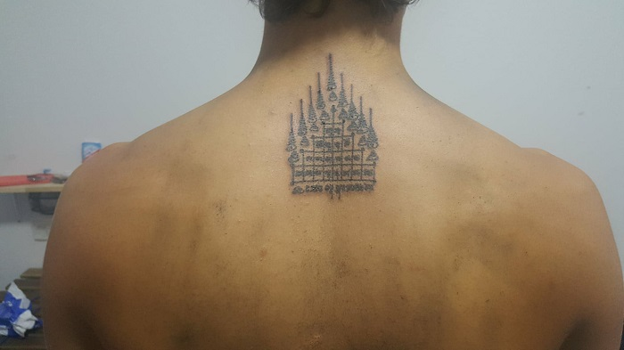 My Sak Yant Tattoo from Bangkok