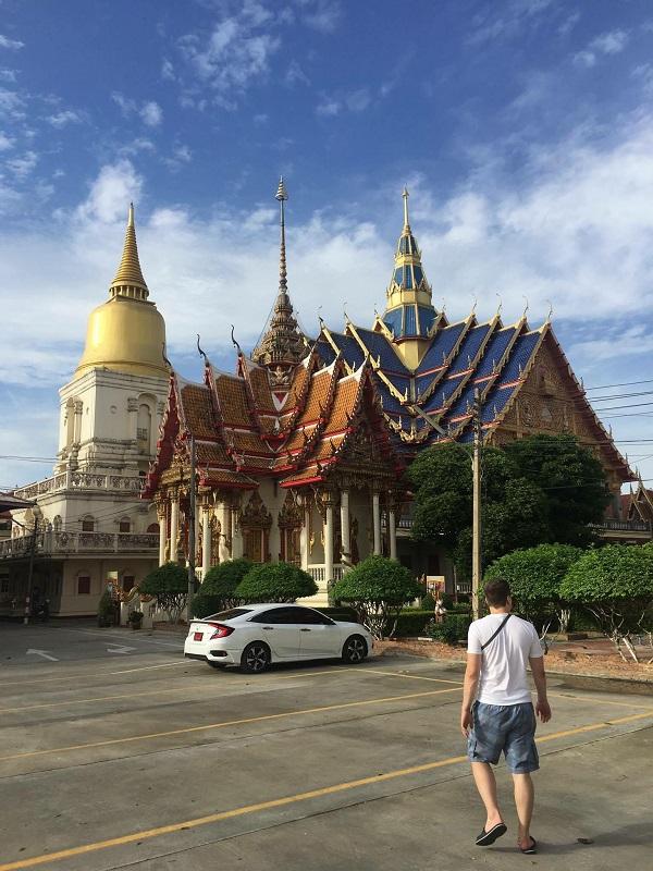 What Bang Phra temple Bangkok Thailand