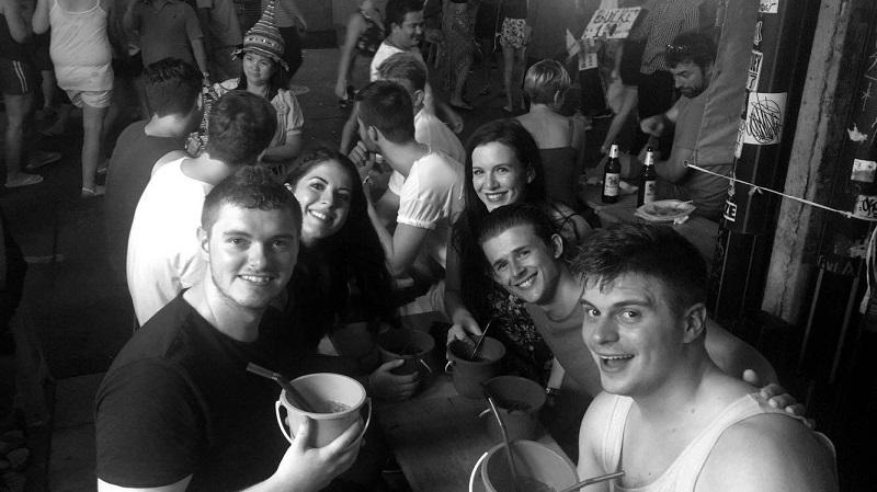 friends in thailand
