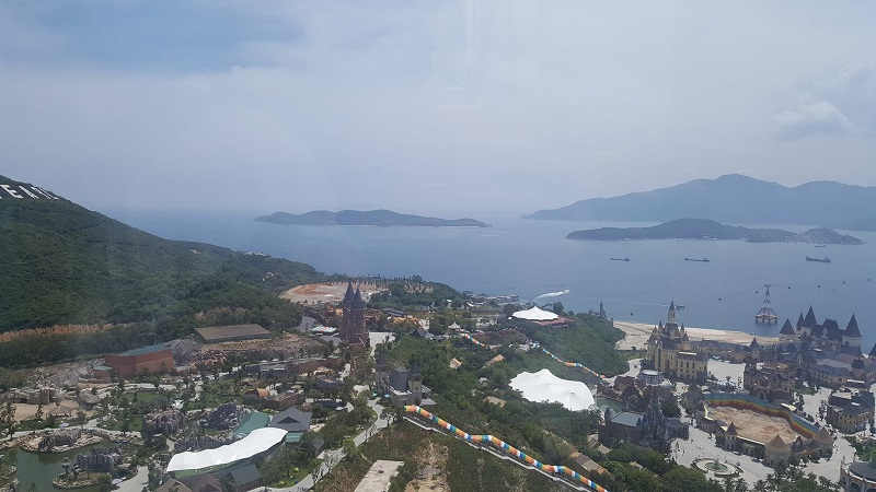 View from Vinpearl Amusement Park in Nha Trang, Vietnam