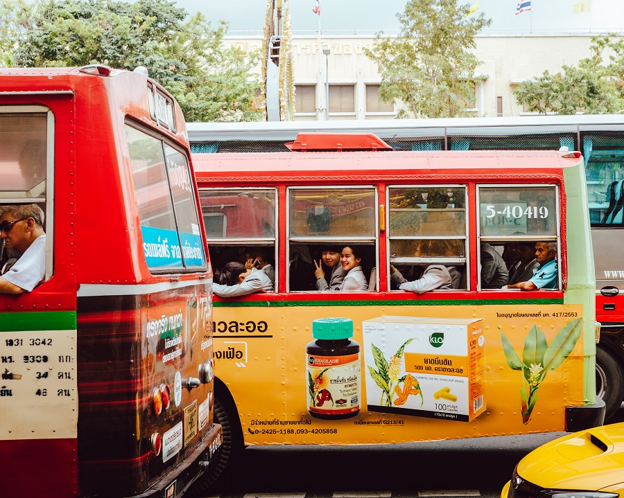bus travel in Chian Mai