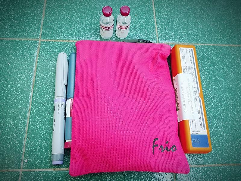 Insulin travel case