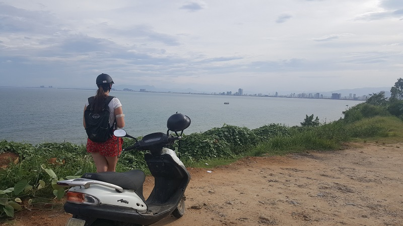 Hoi An to Danang on a moped