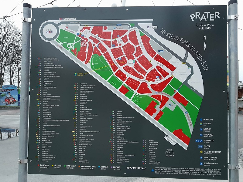 map of prater park