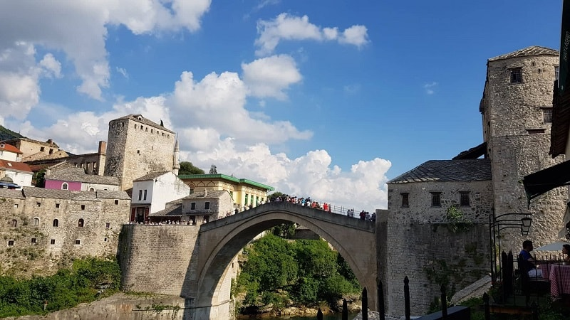 Eating out in Mostar