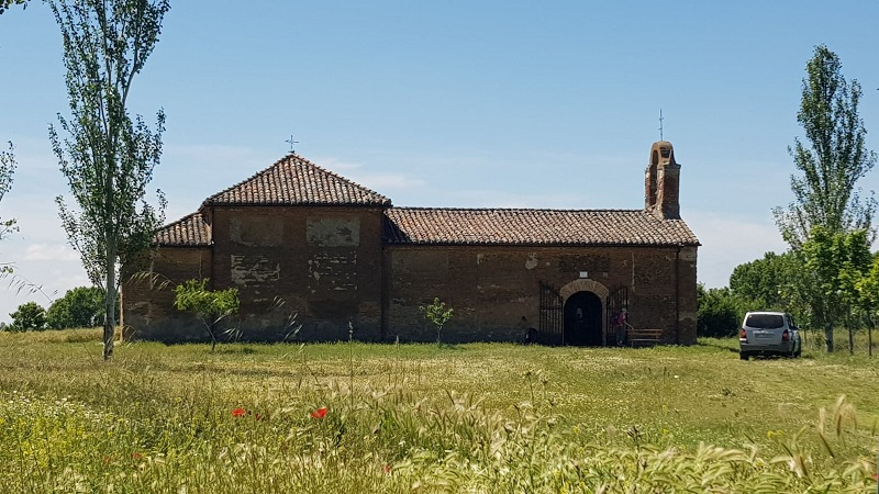Old albergue on the Camino