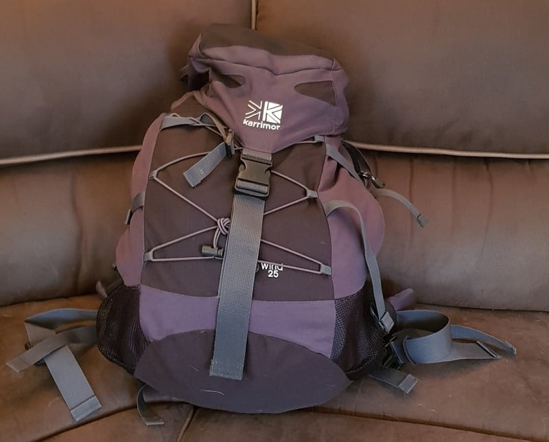 My Camino backpack