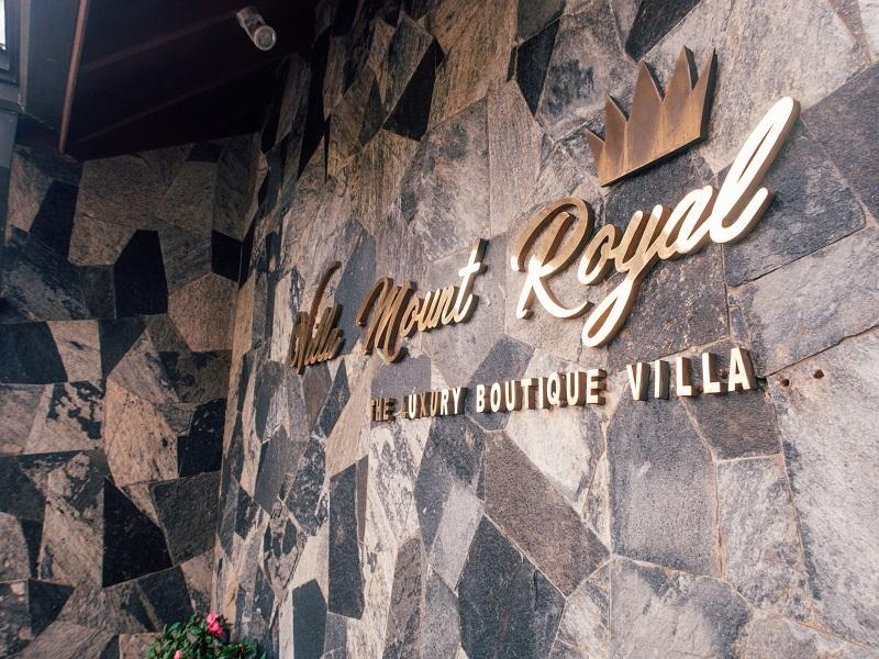 Mount Royal Villa