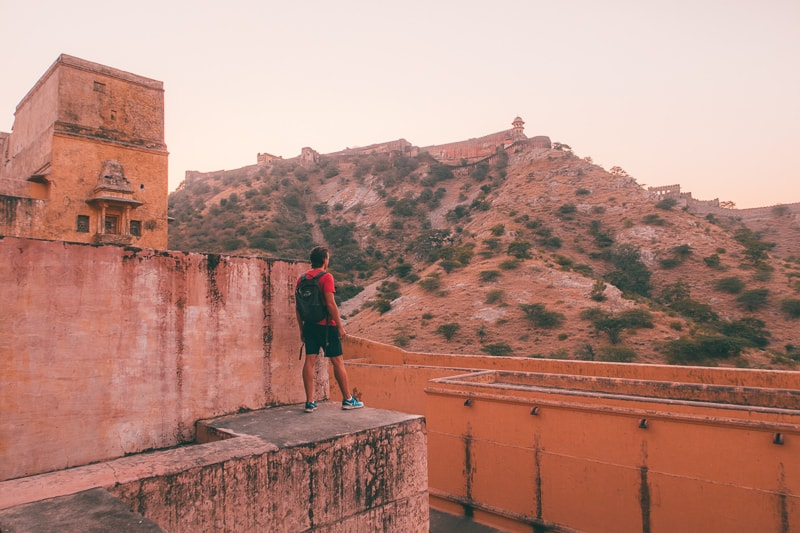 view of Jaigarh Fort in Jaipur