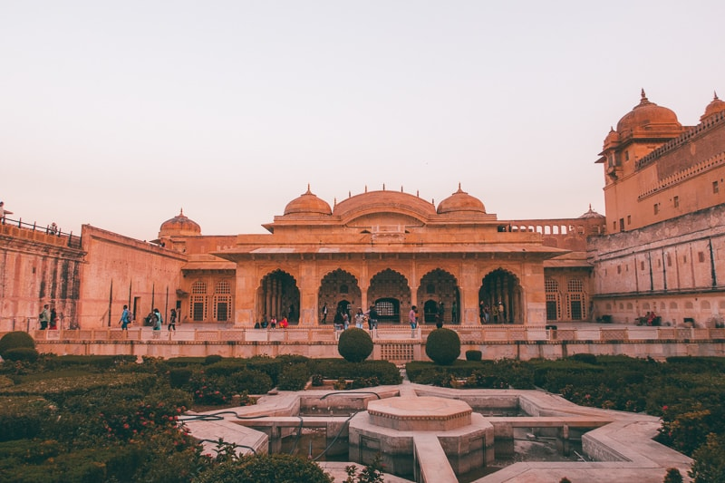 exploring Amber Palace in Jaipur