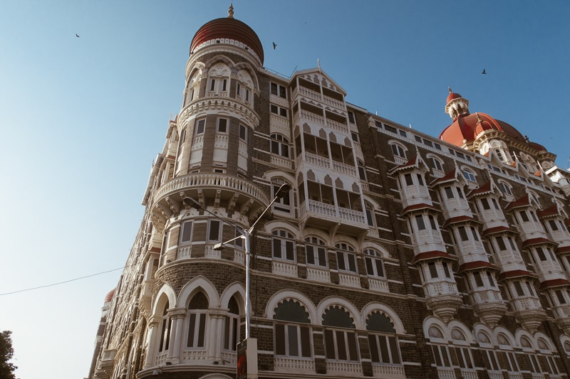 the taj palace hotel in mumbai