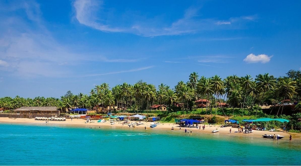 best beach in Goa