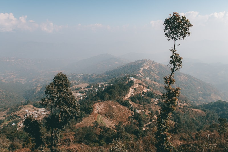 panromaicnview in nagarkot