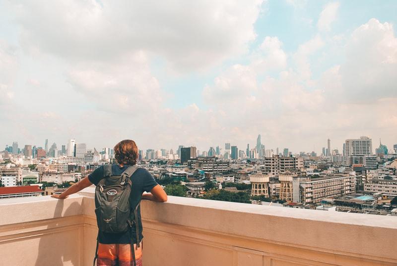 view over bangkok