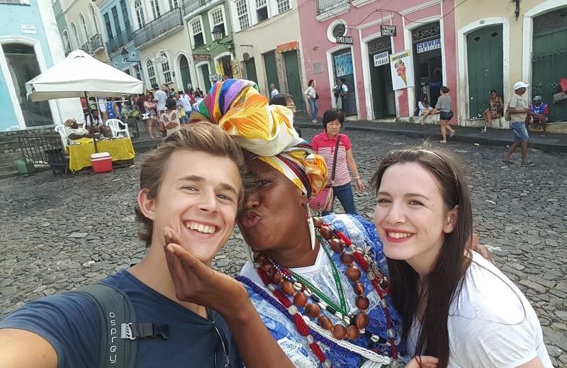 celebrating in el salvador brazil
