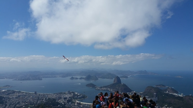 view of rio in Brazil