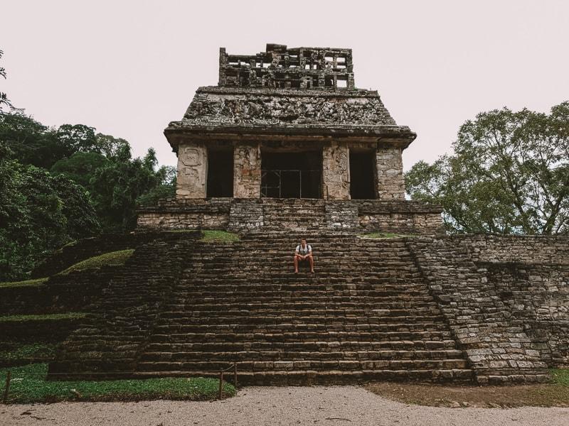 brad at palenque