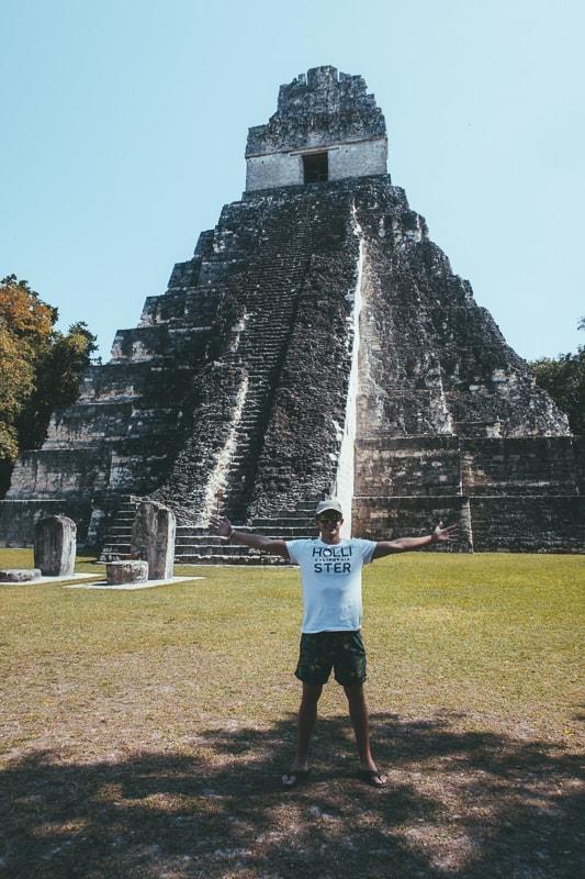 tikal mayan temple