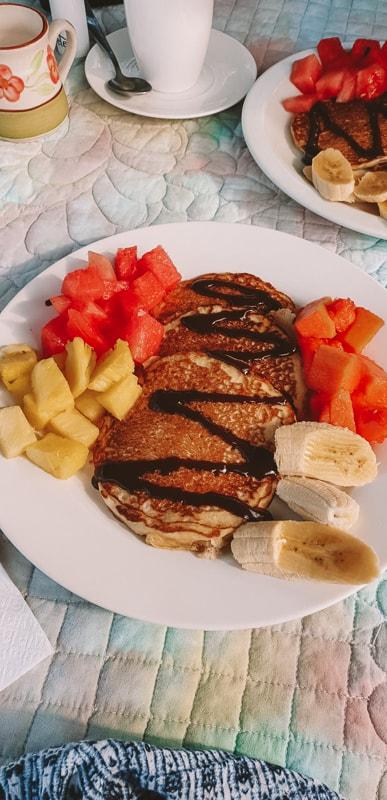 breakfast at casa de leon