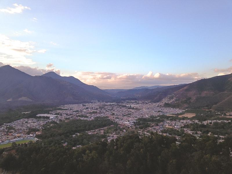 view from cerro de cruz