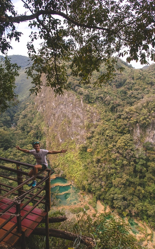 semuc champey view from above