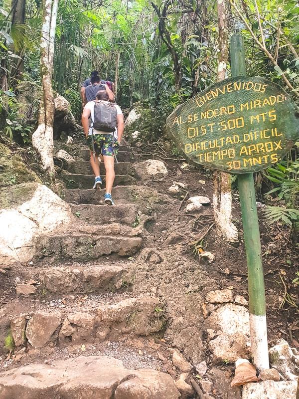 el mirador trail semuc champey