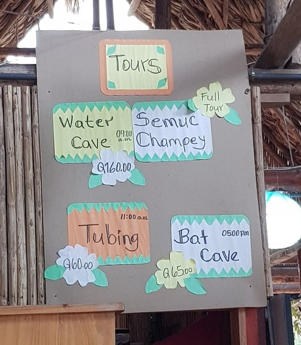 cost of Semuc Champey day tour