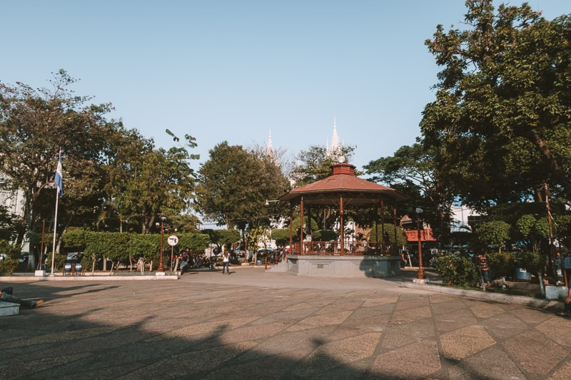 square in san salvador