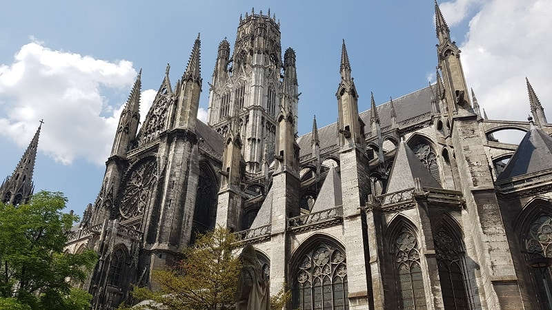 rouen gothic church