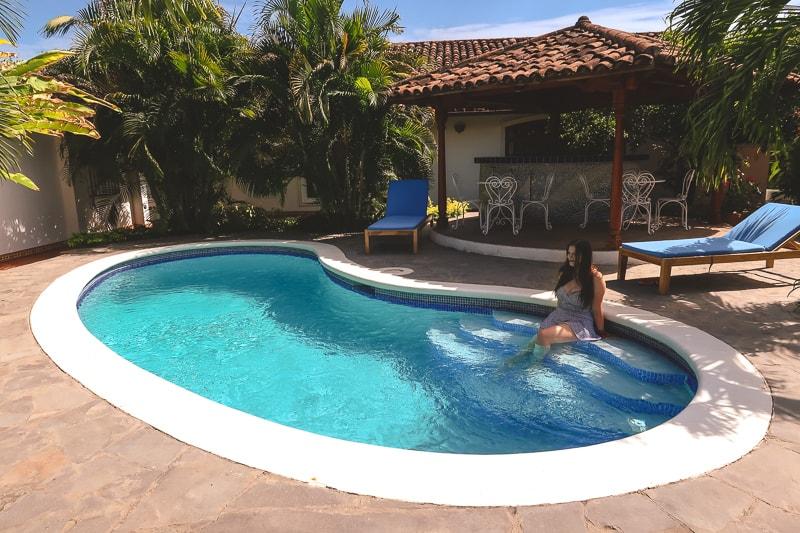 swimming pool hotel adela